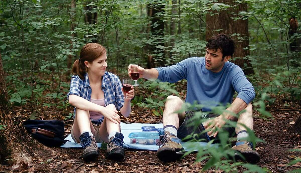 """This film publicity image released by Magnolia Pictures shows Anna Kendrick, left, and Ron Livingston in a scene from """"Drinking Buddies."""" (AP Photo/Magnolia Pictures)"""