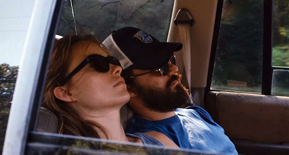 "This film publicity image released by Magnolia Pictures shows Olivia Wilde, left, and Jake Johnson in a scene from ""Drinking Buddies.""  (AP Photo/Magnolia Pictures) Photo: Associated Press"
