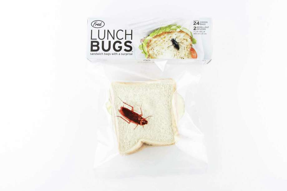 Lunch Bugs sandwich bags Photo: Michael Paulsen, Staff / © 2013 Houston Chronicle