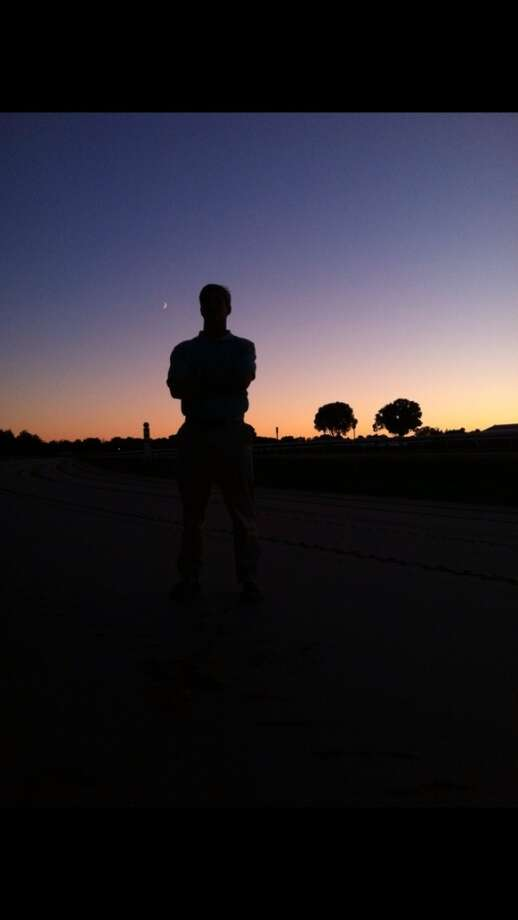 Artsy picture on the track at dawn (Jane Motion)
