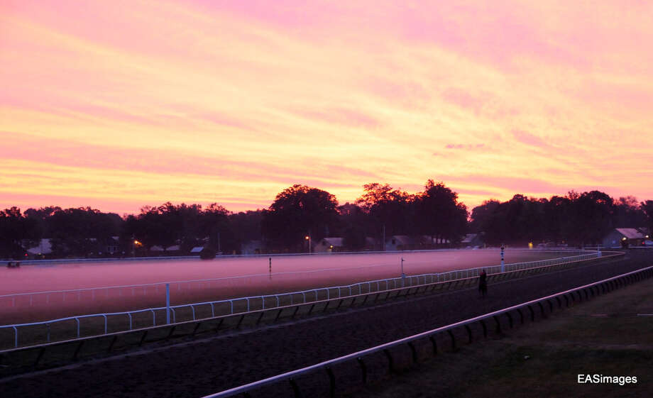 Sunrise at the Oklahoma Track (Ed Sindoni) Photo: Picasa