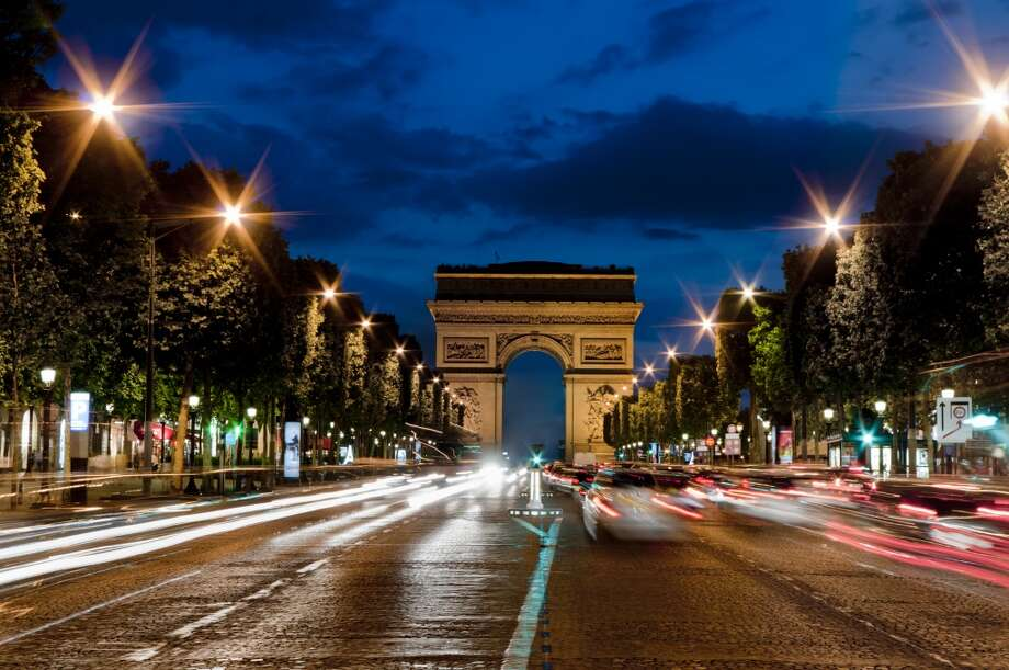 16. Paris, Champs Elysees and Arc de Triomphe area Photo: Charles Bowman, Getty Images