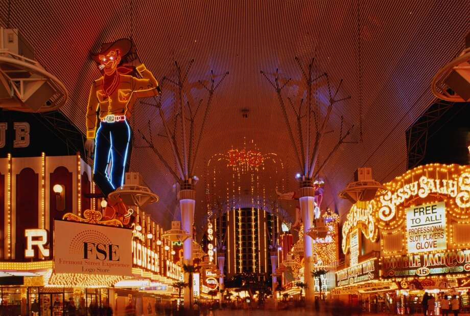 13. Las Vegas, Fremont Street area Photo: Jake Rajs, Getty Images