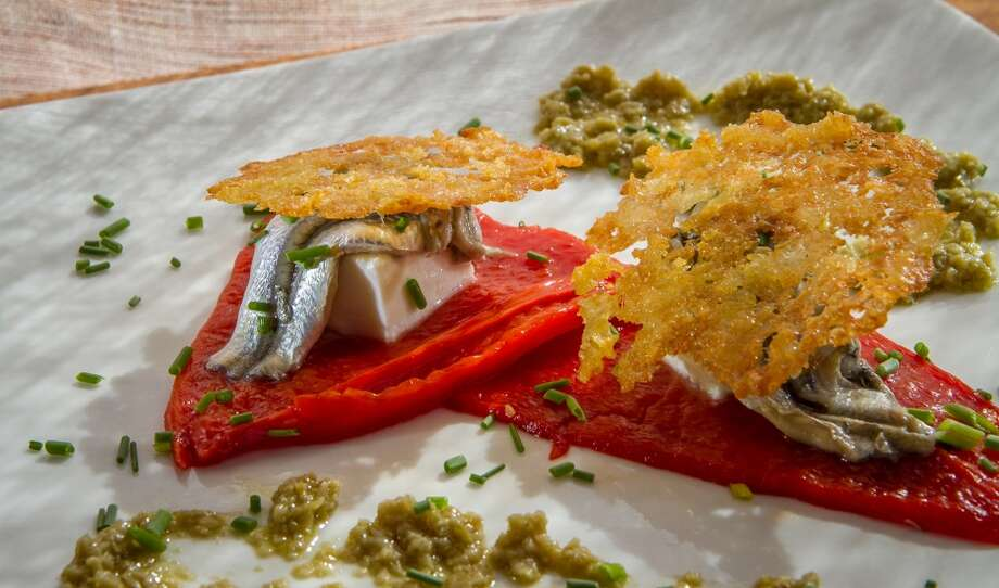 The House Pickled Anchovies at Duende in Oakland. Photo: John Storey, Special To The Chronicle