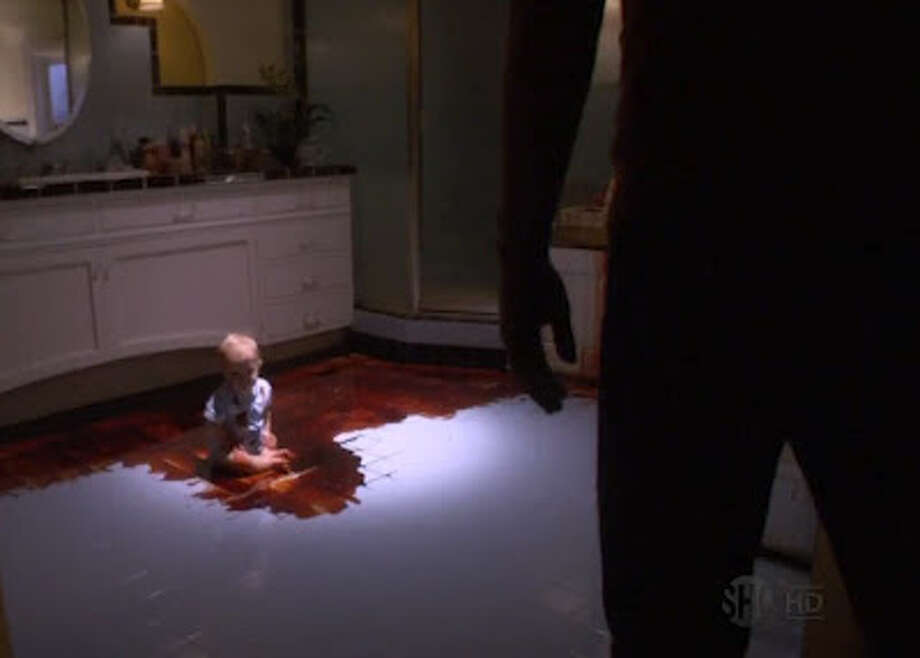 'Dexter's' most shocking moment came at the end of the 4th season, when Dexter discovers that his wife Rita was the Trinity Killer's final victim.