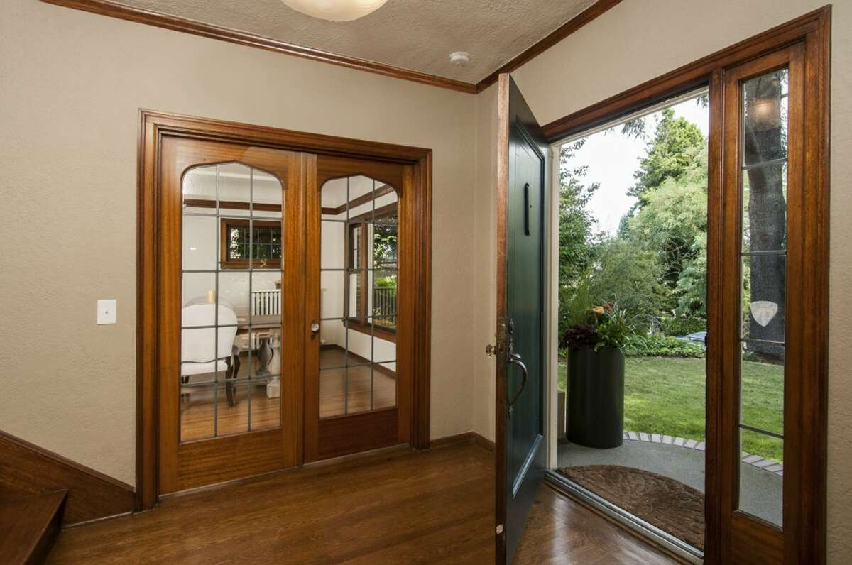 Foyer of 903 22nd Ave. E. It's listed for $1.829 million.