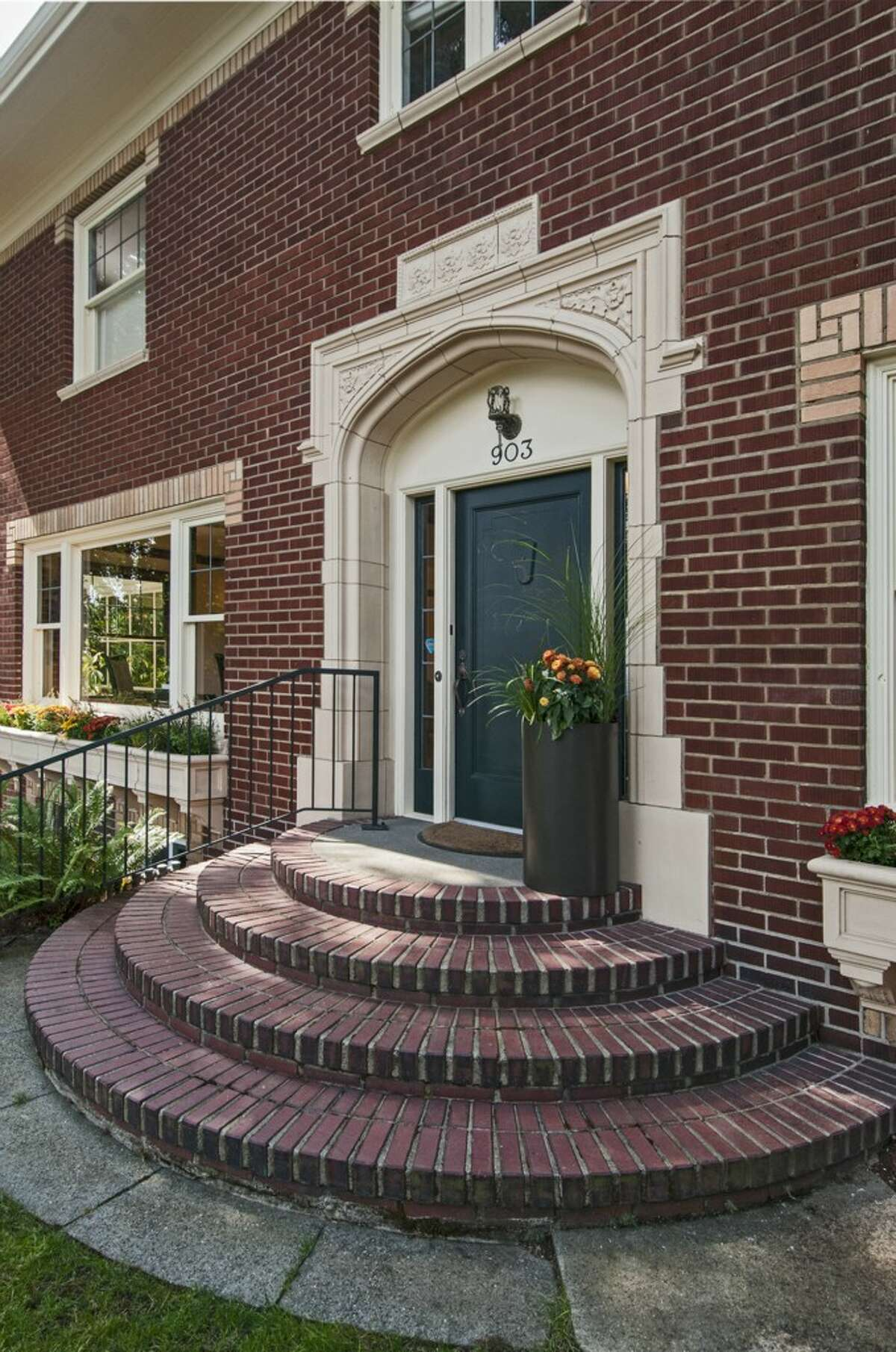 Entry of 903 22nd Ave. E. It's listed for $1.829 million.