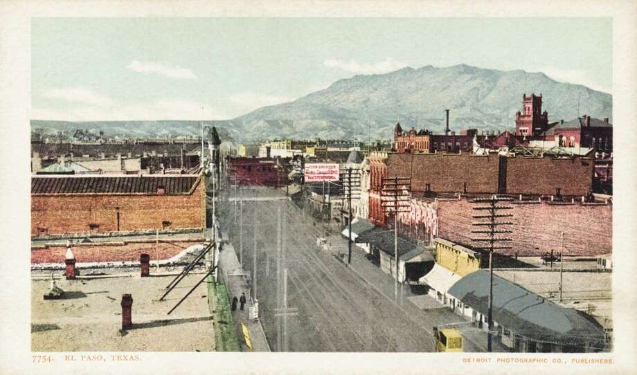 UNSPECIFIED - CIRCA 1930: El Paso, Texas Postcard. ca. 1888-1905, El Paso, Texas Postcard (Photo by LCDM Universal History Archive/Getty Images) Photo: Getty Images
