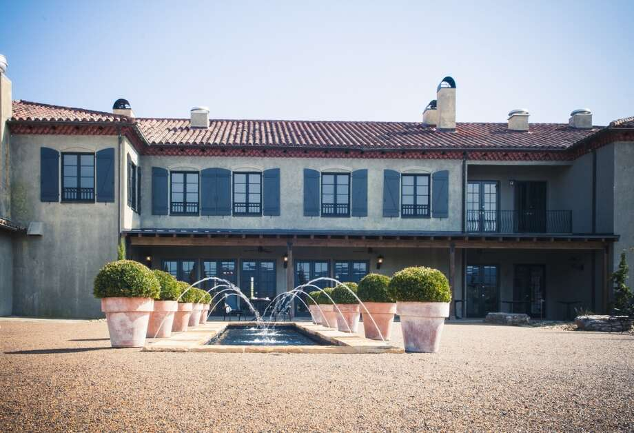 At the rear of the hotel is a large  outdoor patio with seating as well as steps leading to a new pool. Photo: Hotel Domestique