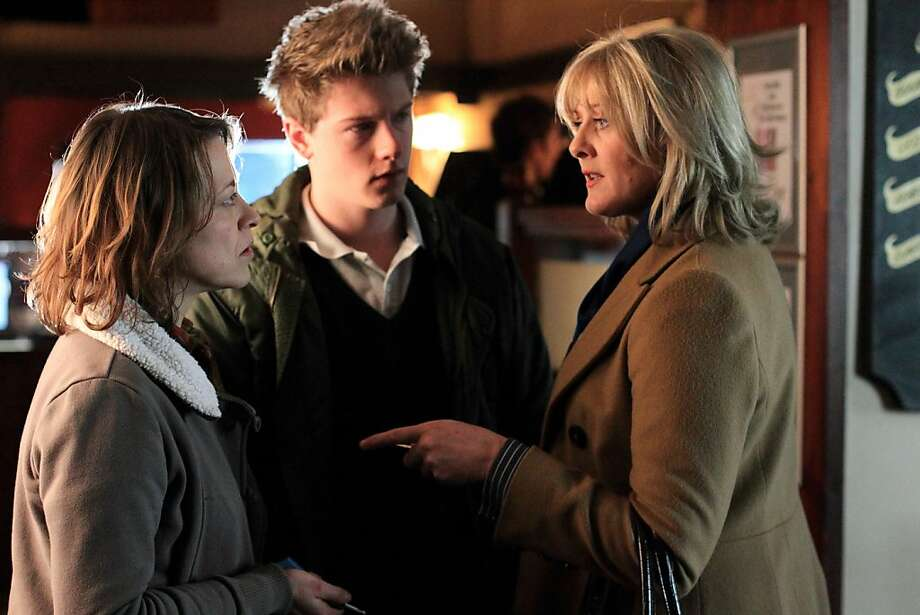 "Nicola Walker (left), Josh Bolt and Sarah Lancashire are among the stars of ""Last Tango in Halifax"" on PBS. Photo: Matt Squire, PBS"