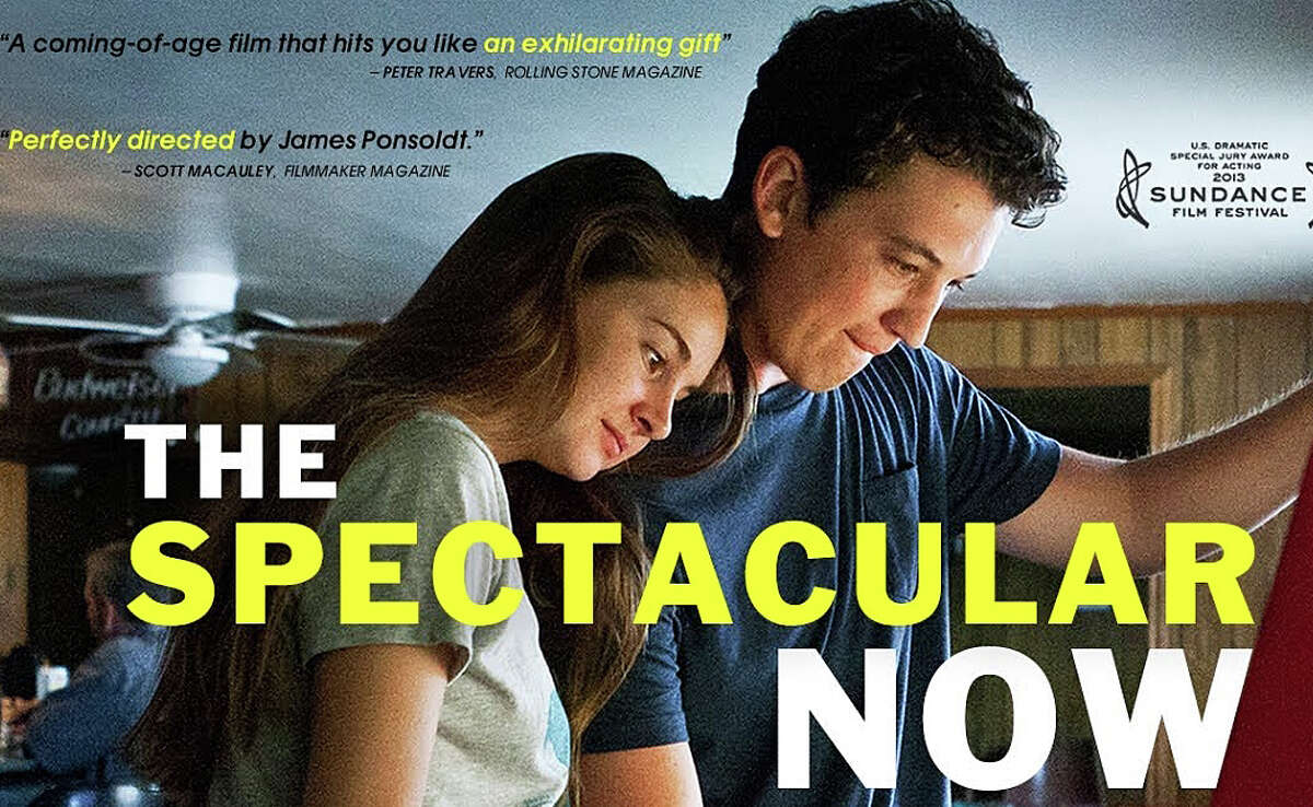 """""""The Spectacular Now,"""" a new movie adapted from the 2008 novel by Tim Tharp, is now playing in area theaters."""