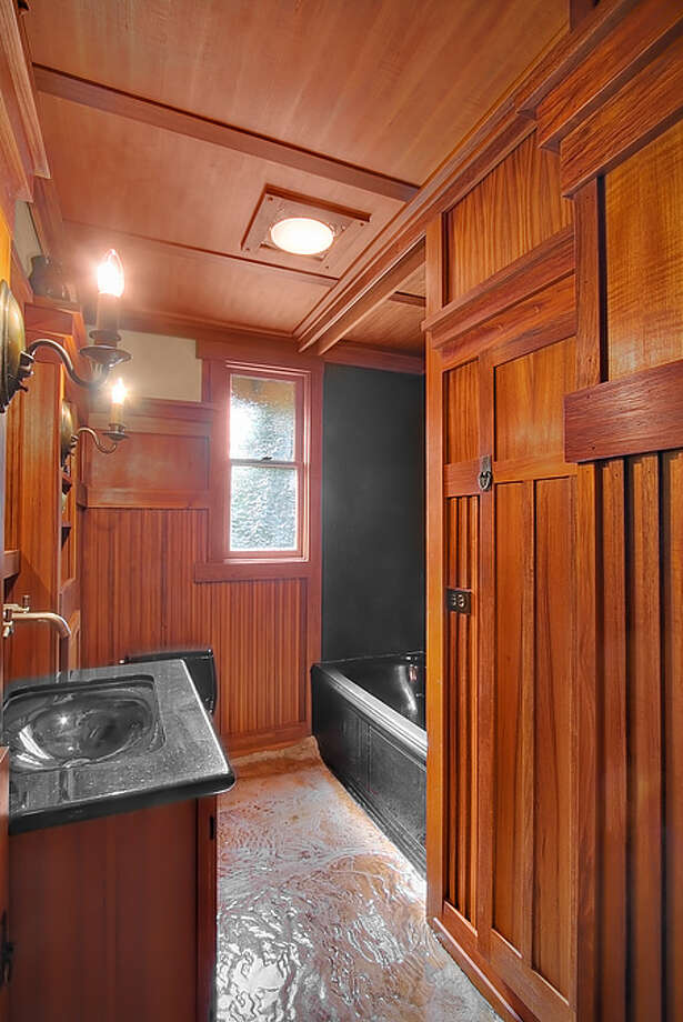 Bathroom of 1610 Palm Ave. S.W. It's listed for $1,395,000. Photo: Courtesy Adam Cobb, Windermere Real Estate
