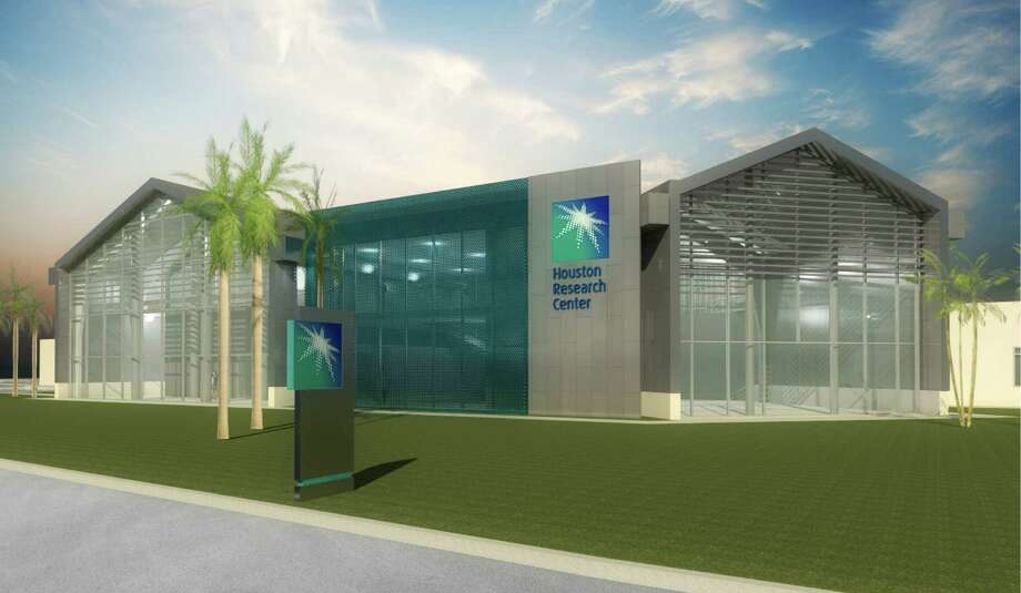 Shown is an artist rendition of the Aramco Research Centers - Houston, which will become the company's largest R&D center in the United States. It is in the Energy Corridor and will have over 50,000 square feet of office and state-of-the-art laboratory space. The center will focus on upstream research.
