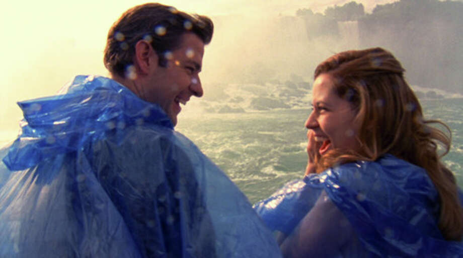 In a happier surprise, Jim and Pam of 'The Office' revealed they were secretly married on a tour boat in Niagara Falls after (correctly) anticipating that their co-workers would disrupt their church ceremony.