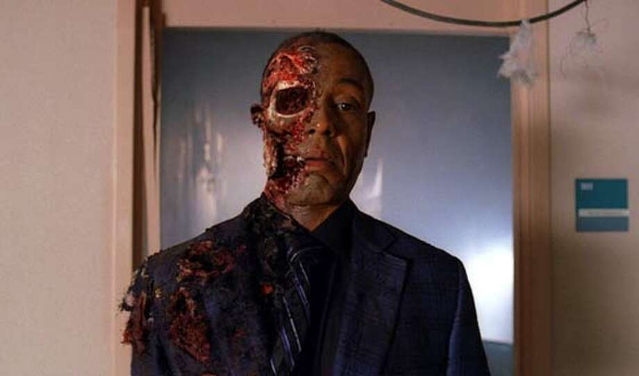 Walter also plots the demise of his boss/greatest threat, Gus, in a nursing home explosion, leaving Gus with nothing more than half a face.