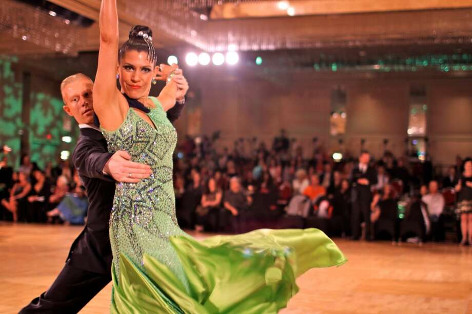 Premier Ballroom dance/show will take place at Holy Trinity Greek Church Community Center in Bridgeport, Conn., on Saturday, Aug. 31, 2013, featuring a performance by American ballroom stars Morton Schnedler and Tonja Martin.