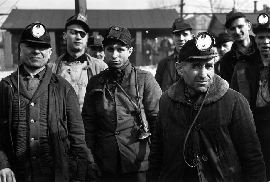 Pennsylvania miners, 1936 Photo: Carl Mydans, Time Life / Time & Life Pictures
