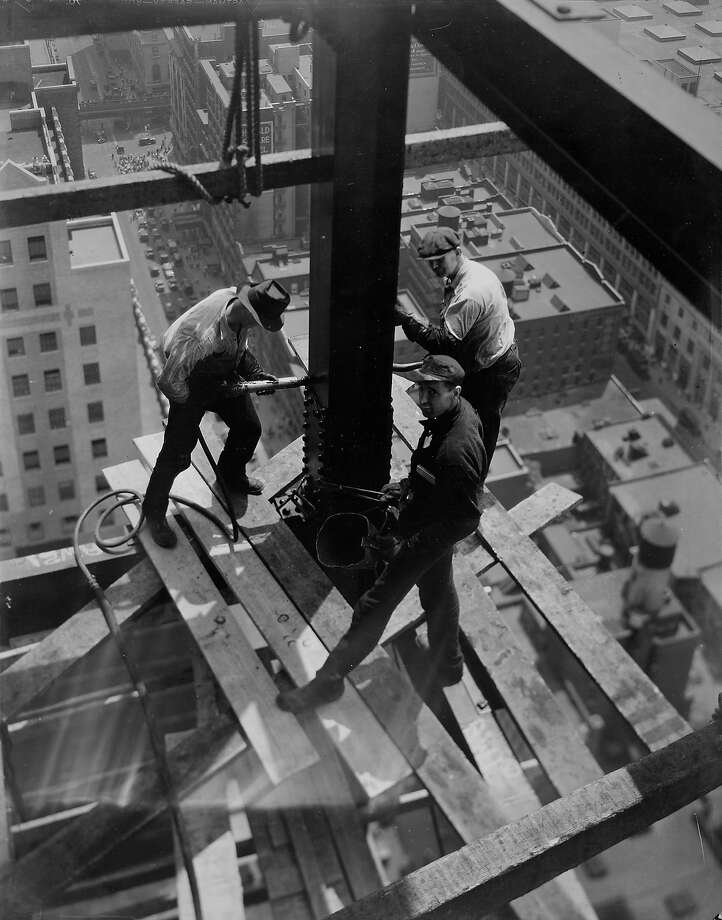 Iron workers, date unknown Photo: Arthur Gerlach, Time Life / Time & Life Pictures Creative