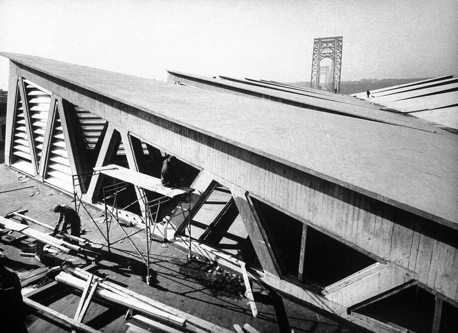 Bridge builders, 1963 Photo: Truman Moore, Time Life / Truman Moore