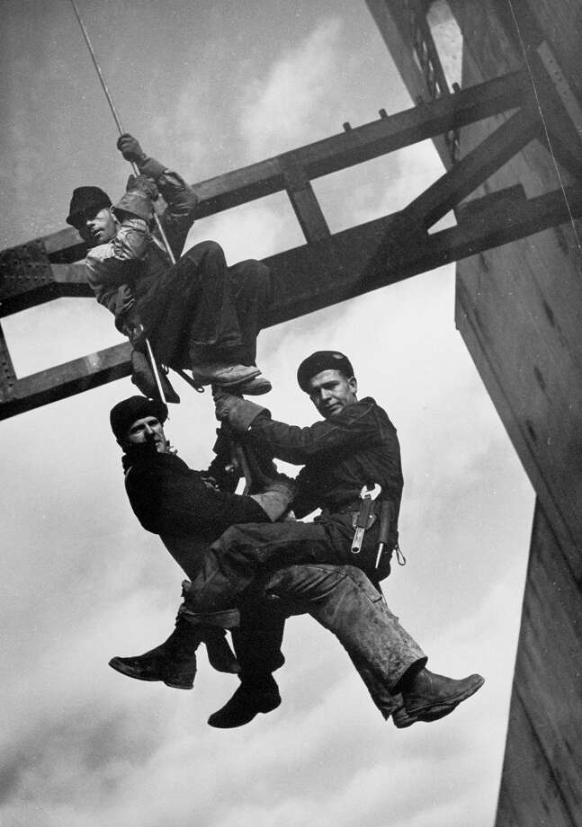 Dam builders, 1936 Photo: Margaret Bourke-White., Time Life / Time & Life Pictures