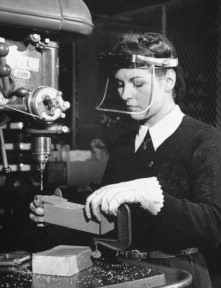 Machinist, 1941 Photo: Peter Stackpole, Time Life / Time Life Pictures