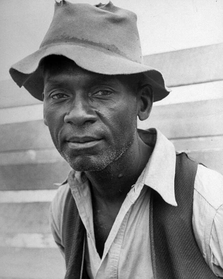 Sharecropper Lonnie Fair, 1936 Photo: Alfred Eisenstaedt, Time Life / Time Life Pictures