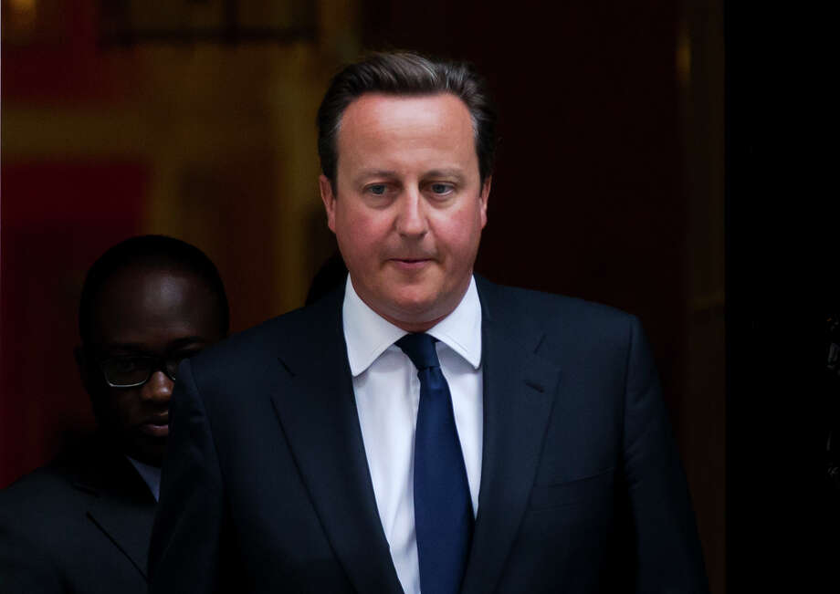 David Cameron is the first prime minister in memory not to win backing for military action. Photo: Matt Dunham, STF / AP