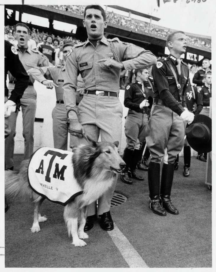 Reveille IV in 1979 (file photo) Photo: Sam C. Pierson,  Jr., HOUSTON CHRONICLE / HOUSTON CHRONICLE