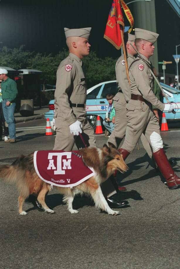 Reveille in 1993. Photo: Carlos Antonio Rios, Houston Chronicle / Houston Chronicle
