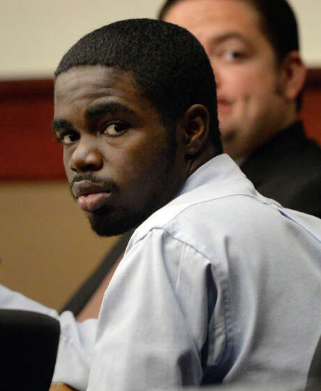 FILE - In this Tuesday, Aug. 27, 2013 file photo, De'Marquise Elkins appears in court during his trial in Marietta, Ga. Closing arguments began Friday, Aug. 30, 2013, in Elkins' trial. He is accused of fatally shooting a baby in a stroller in coastal Georgia.   (AP Photo/Atlanta Journal-Constitution, Johnny Crawford, File) Photo: Johnny Crawford, MBI / Atlanta Journal-Constitution