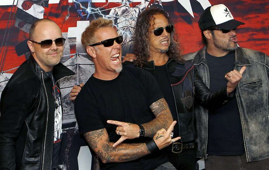 Metallica are currently recording a brand new album - SFGate