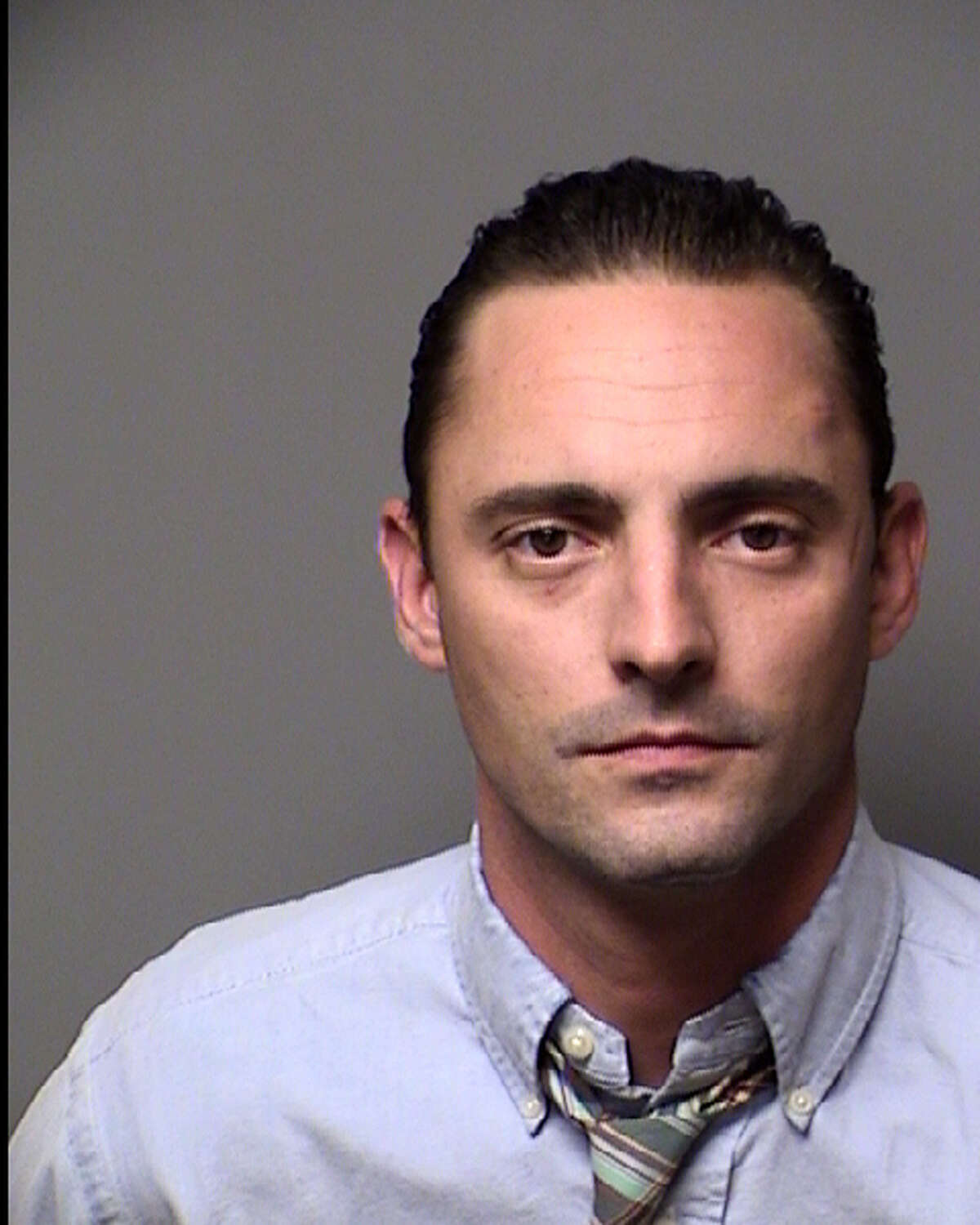 Jason Stafford Wentworth, son of former State Senator Jeff Wentworth, is seen in an Aug. 29, 2013 booking mug provided Aug. 30, 2013 by the Bexar County Sheriff Department. Wentworth was arrested Wednesday for probation violations related to a May 20, 2011, driving while intoxicated charge.