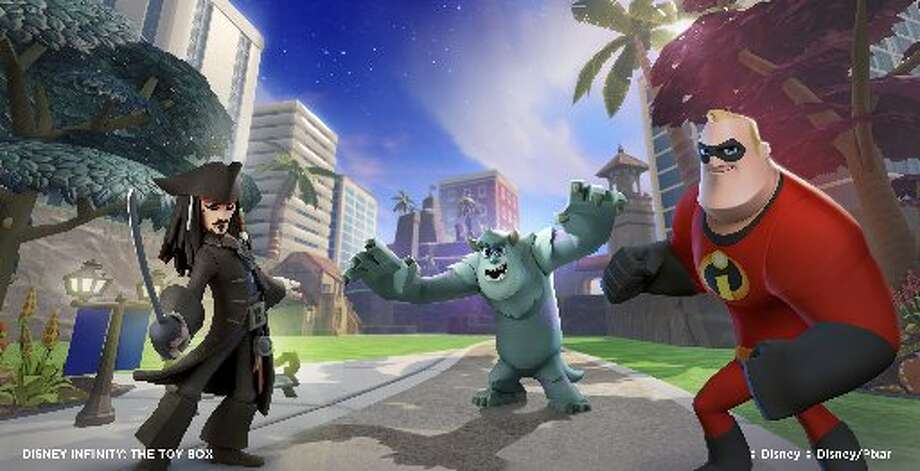 No. 9: Disney Infinity Disney Interactive Studios Wii U Action-adventure Weekly units sold: 10,168 Total units sold: 37,383,592 Number of weeks available: 1 Photo: Disney Interactive Studios