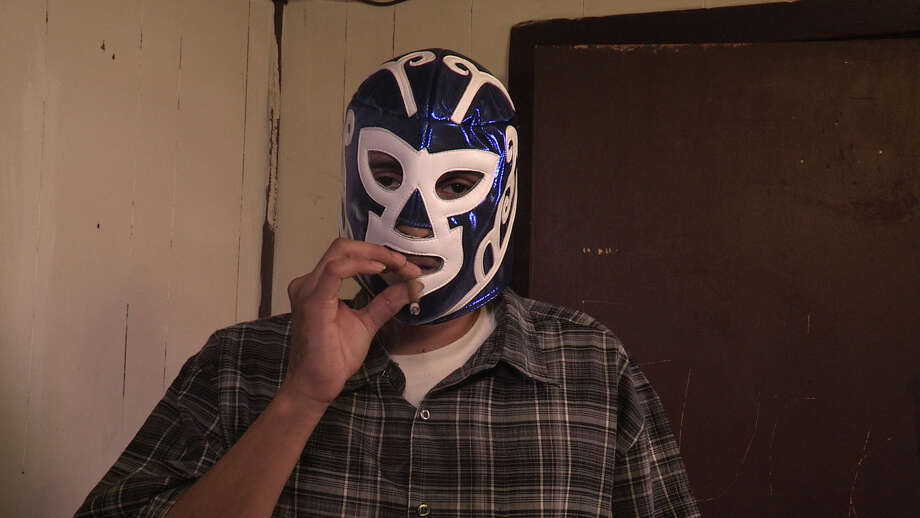 "A masked drug dealer in ""Drugs, Inc.: High in Houston"" airing on National Geographic Channel Location: Houston, USA: Mexican cartel in mask (Photo Credit: Wall to Wall Media) / Wall to Wall Media"