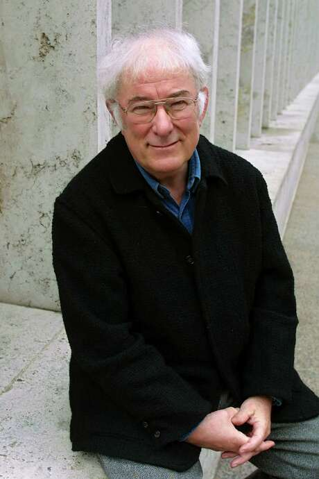 Poet Seamus Heaney, photographed in 2001, was the fourth Irishman to win the Nobel Prize in Literature. Photo: SARA KRULWICH, STF / NYTNS