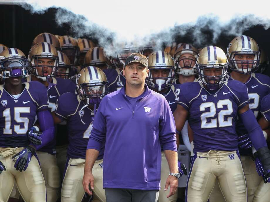 On Saturday, the Washington Huskies kick off Steve Sarkisian's fifth season as head coach, christening newly renovated Husky Stadium against the No. 19 Boise State Broncos. It's a big way to start off a big season on Montlake.  After three-straight 7-6 seasons, it's important to remember how far the Huskies have come since the disastrous 0-12 2008 season. Sarkisian's certainly done a nice job of restocking a depleted roster and improving the national perception of the program.  But that's not enough anymore.  His team is finally talented and experienced enough to make a major move in the Pac-12 North, even against stacked Oregon and Stanford squads. If they don't – and especially if they repeat last year's disastrous performance in the Apple Cup – Coach Sark will find himself firmly on the hot seat.  Today, we take a look at the Huskies' defense, which made huge leaps in coordinator Justin Wilcox's first year at the helm, jumping from No. 106 to 31 in total defense and No. 108 to 39 in scoring defense.   Click through the gallery for our analysis of each position group. (Note: We'll be using Washington's official depth chart to determine player positions.) Photo: Otto Greule Jr, Getty Images