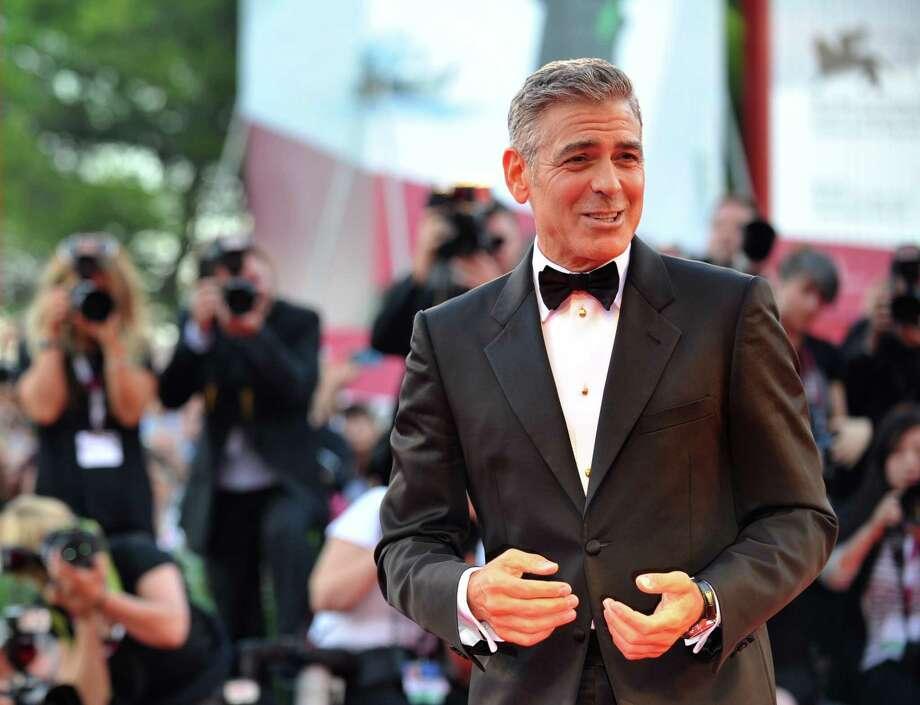 George Clooney Photo: TIZIANA FABI / TIZIANA FABI