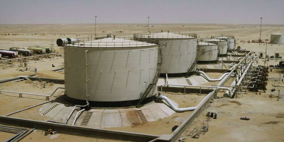 Apache's Egyptian operations include this gathering center that supports production in the Karama Field. Photo: Apache Corp.