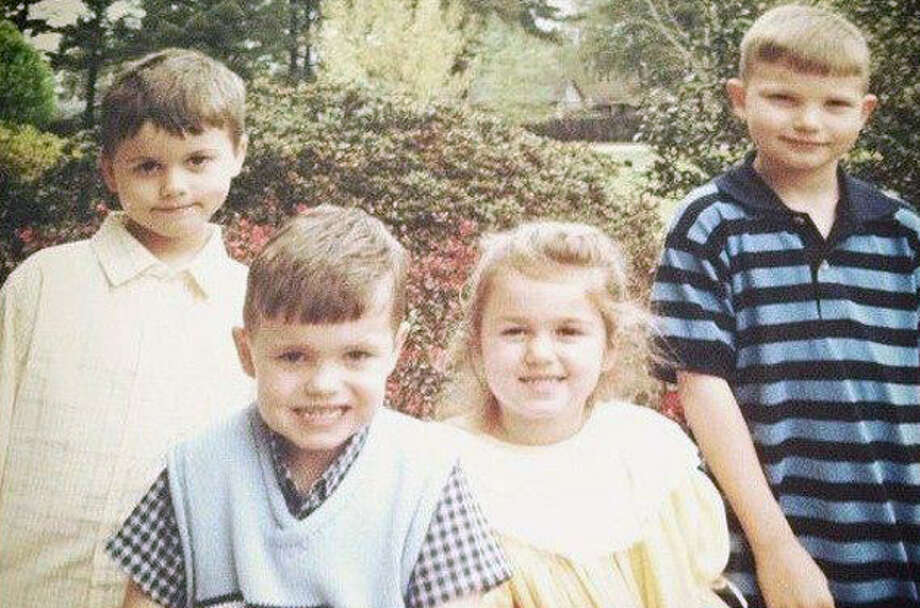 The Robertson cousins: John Luke, Cole, Sadie and Reed. Photo: Courtesy Of The Robertson Family/ A&E
