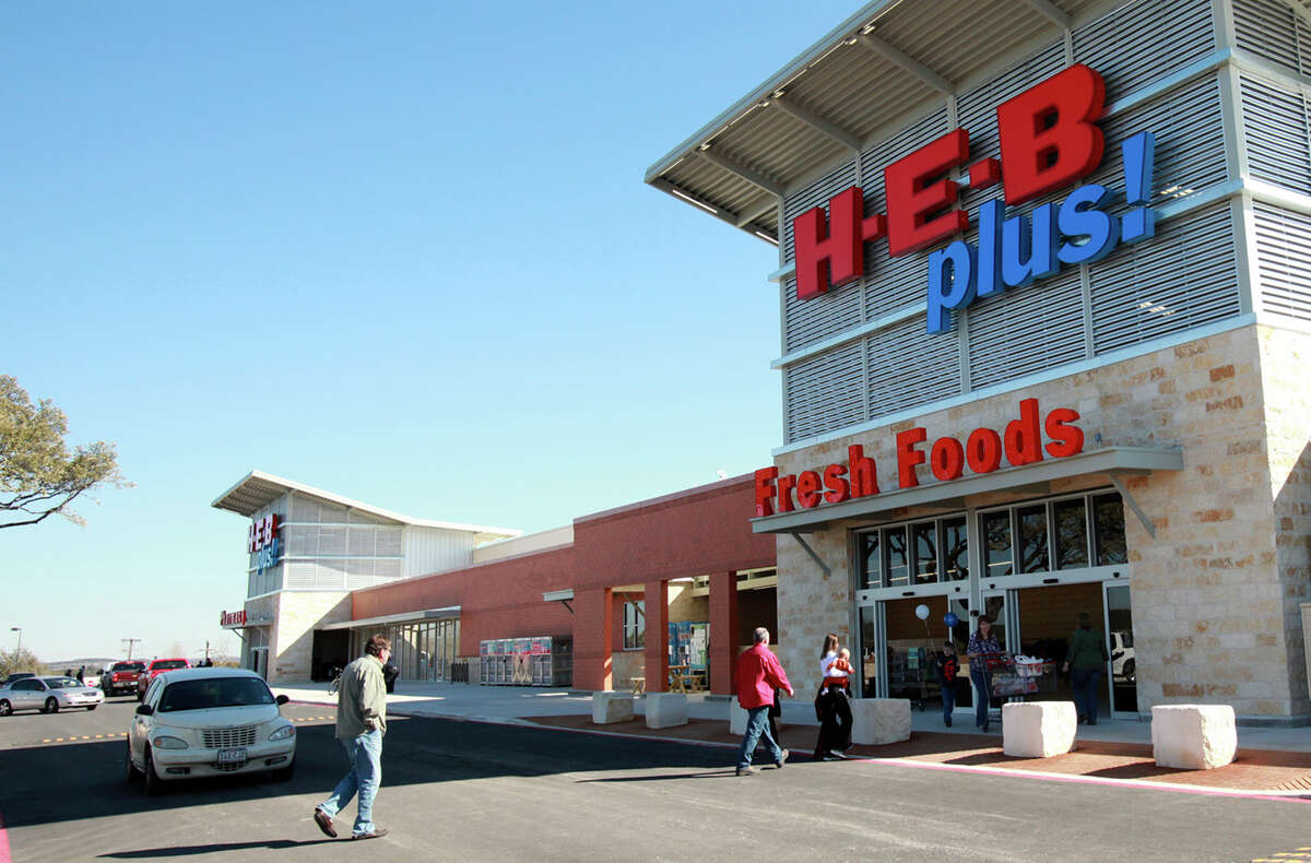 An H-E-B Plus, such as this one in Bulverde in the Hill Country, carries a variety of items in addition to groceries. A layaway plan will allow purchases of toys, electronics and small appliances.