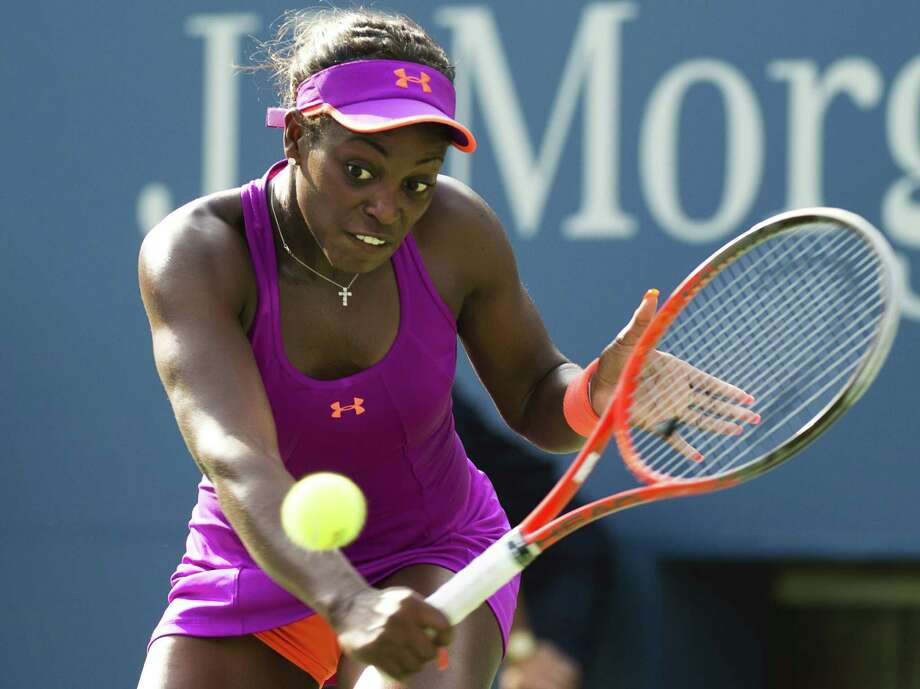 Sloane Stephens earned her first trip to the fourth round of the U.S. Open with a smooth 6-1, 6-3 win over Jamie Hampton in New York. Photo: DON EMMERT, Staff / AFP