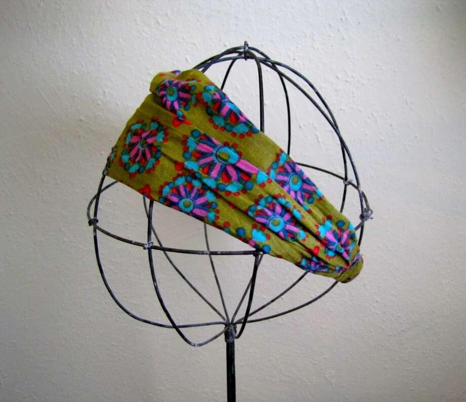 Patterned Headband, YaYa Club, Beaumont, $12.95 Photo: Cat5