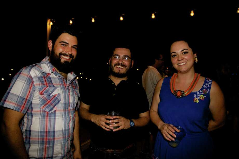 San Antonians enjoying an evening at Artpace's Fresh Art Summer Concert finale Photo: Xelina Flores-Chasnoff