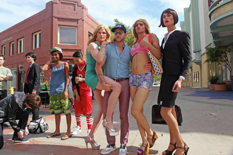 "America's Next Top Model -- ""The Guy Who Gets to Kiss the Girl"" pictured left to right: Alex, Renee, Kanani, Chris H., Johnny Wujek, Marvin and Cory Cycle 20 Photo: Patrick Wymore/The CW ©2013 The CW Network, LLC. All Rights Reserved Photo: Patrick Wymore, The CW / ©2013 The CW Network, LLC. All Rights Reserved"