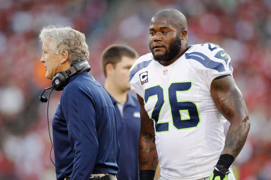 Who the Seahawks cut from the rosterAll NFL teams had to pare their rosters from 75 down to 53 men by 3 p.m. Saturday, finalizing their rosters for the start of the regular season. That means the Seahawks had to say goodbye to 22 promising players who by and large have performed impressively this preseason.  [Updated 5:05 p.m.: The Seahawks have now officially announced their cuts and this gallery has been updated with those players.]  Some are rookies, some are perennial backups, but some are veterans -- and those can be the toughest cuts for the locker room and the 12th Man.  Of course the primary factor is football, but there are many reasons a player might get cut. A skilled player might not fit his team's scheme. Off-the-field issues may raise questions about a player. And salary is of course one of the most important factors when building an NFL roster. Seahawks head coach Pete Carroll and general manager John Schneider have had some tough decisions to make, for both the present and the future.  Click through the gallery to find out who the Seahawks have cut. Photo: Brian Bahr, Getty Images
