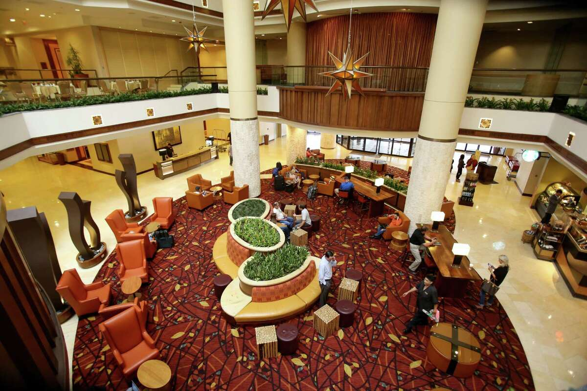 The Marriott Rivercenter and Riverwalk downtown spent about $60 million renovating their lobbies as hotels across the country upgrade their public spaces to attract more food and beverage sales and accommodate younger guests who prefer to avoid their solitary hotel rooms.