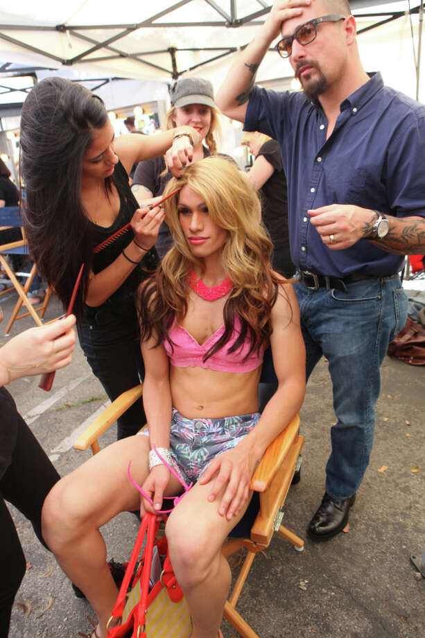 """America's Next Top Model -- """"The Guy Who Gets to Kiss the Girl"""" pictured: Marvin Cycle 20 Photo: Patrick Wymore/The CW ©2013 The CW Network, LLC. All Rights Reserved Photo: Patrick Wymore, The CW / ©2013 The CW Network, LLC. All Rights Reserved"""
