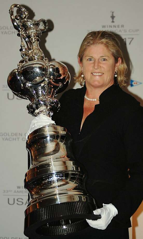 """Elizabeth Murphy, in her duties with Oracle, became the """"Trophy Wife"""" responsible for the America's Cup."""