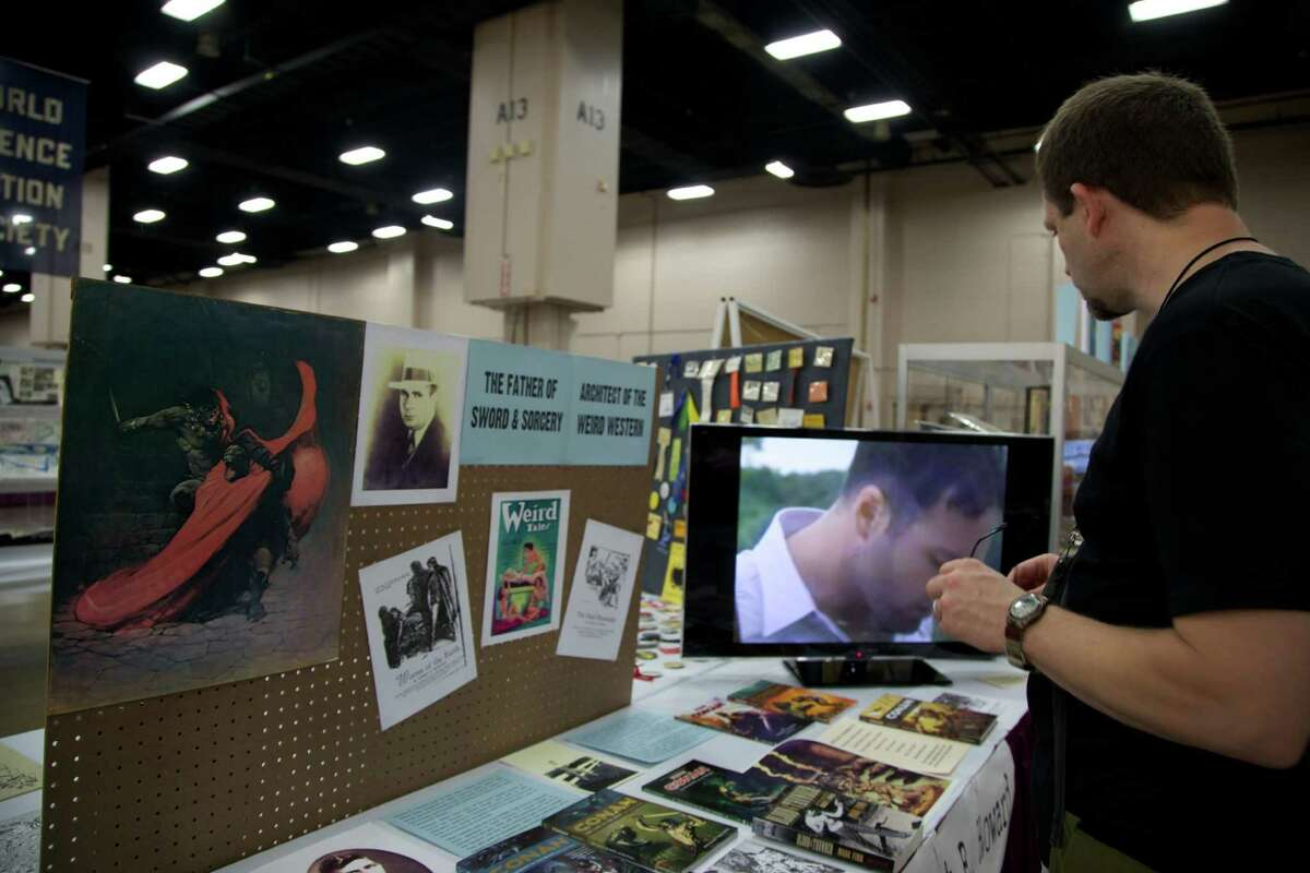 The crowd was lively and colorful at the 71st Annual World Science Fiction Convention at the Henry B. Gonzalez Convention Center on Aug. 31, 2013.