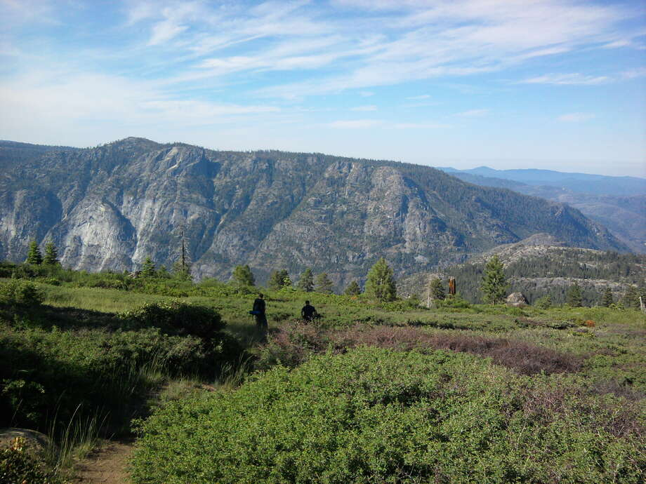 The rim of the Grand Canyon of the Tuolumne then emerges ahead of you Photo: Tom Stienstra/The Chronicle